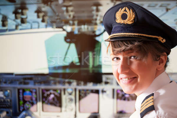 Airline pilot  Stock photo © Amaviael