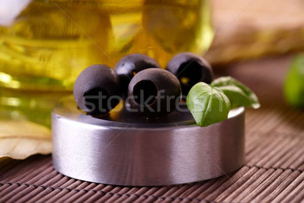 Black Olives Stock photo © Amaviael