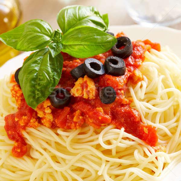 Spaghetti Bolognese Stock photo © Amaviael