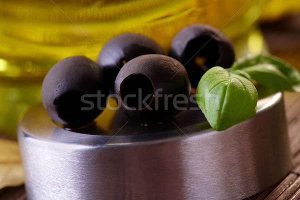 Black Olives Stock photo © Amaviael