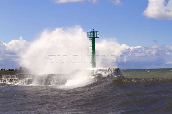 Huge wave Stock photo © Amaviael