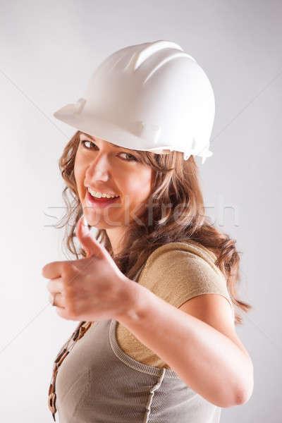 Smiling architect Stock photo © Amaviael