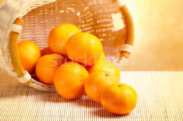 Tangerines Stock photo © Amaviael
