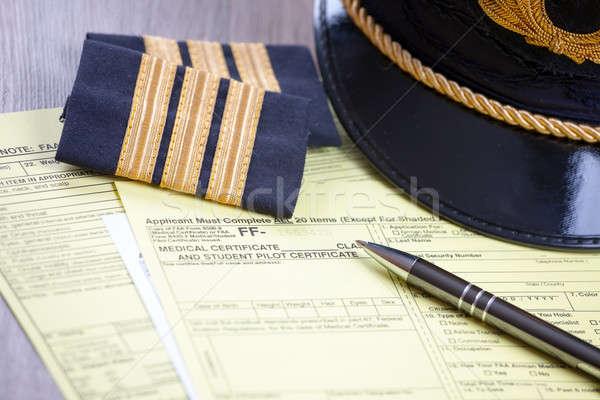 Aeromedical Exam  Stock photo © Amaviael