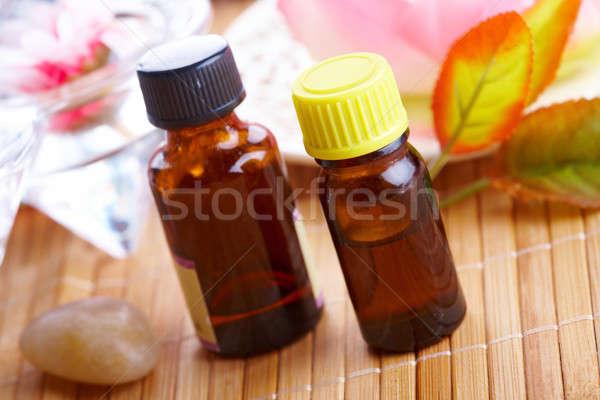 Aromatherapy in bottles Stock photo © Amaviael