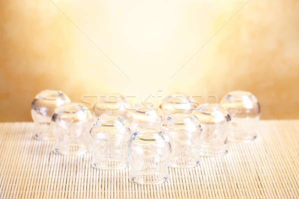 Stock photo: Cupping-glass