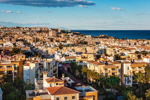 Cityscape of Torrevieja. Alicante province, Costa Blanca. Spain Stock photo © amok