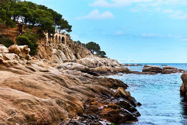 Platja D'Aro beach. Costa Brava in Catalonia, Spain.  Stock photo © amok