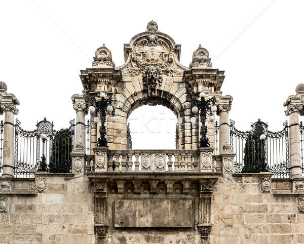 Gateway to the Buda Castle in Budapest, Hungary Stock photo © amok