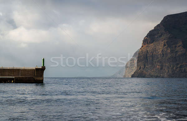 Zonsondergang kanarie eiland tenerife Spanje Stockfoto © amok