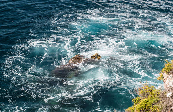 Surf. Mediterranean sea. Ibiza, Balearic Islands Stock photo © amok