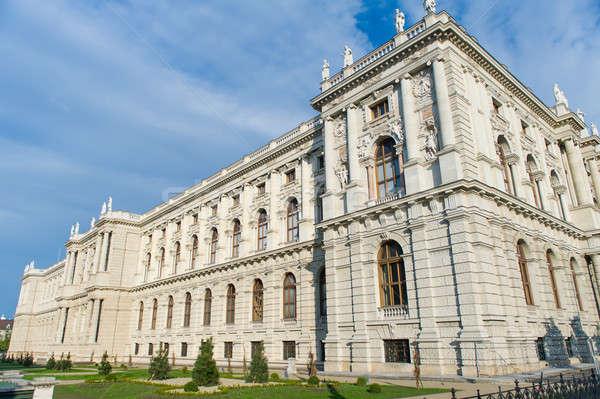 Museum natuurlijke geschiedenis Wenen Oostenrijk hemel Stockfoto © amok