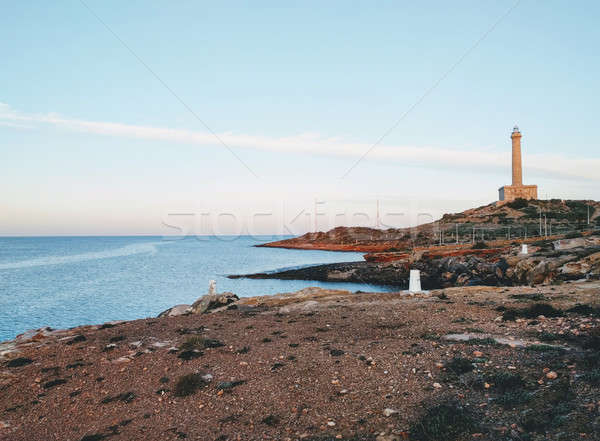 Phare la manga Espagne cracher Photo stock © amok