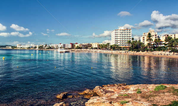 Ibiza seaside. Eastern Spain Stock photo © amok