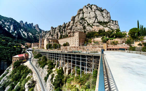 Spectacular Montserrat mountains Stock photo © amok