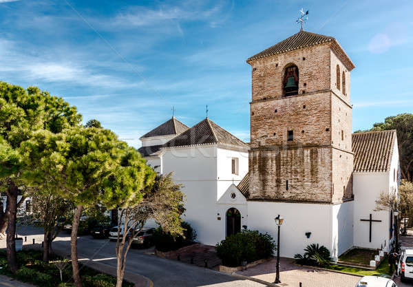 Church of the Imaculate Conception in Mijas Stock photo © amok