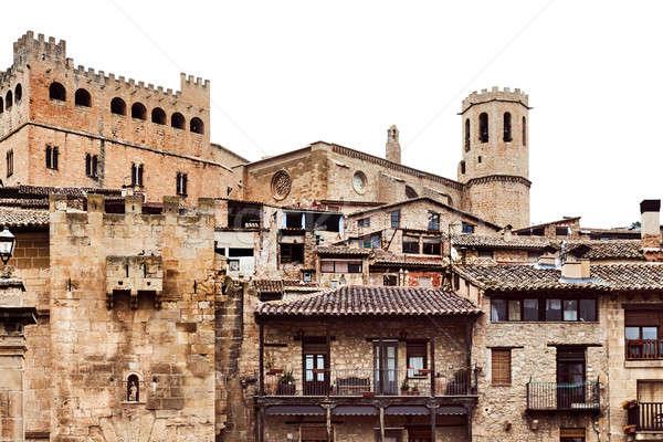 城 町 スペイン 建設 都市 ヨーロッパ ストックフォト © amok