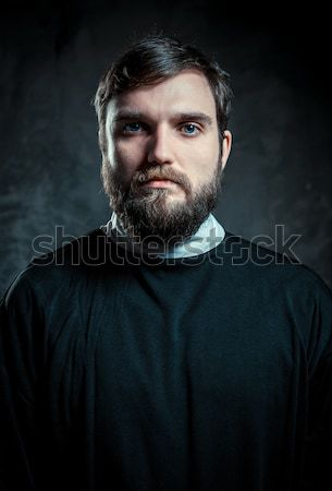 Portrait of a priest Stock photo © amok