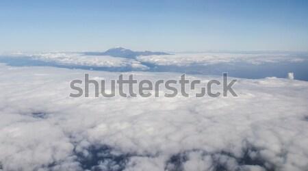 Volkan pencere uçak kanarya ada Stok fotoğraf © amok