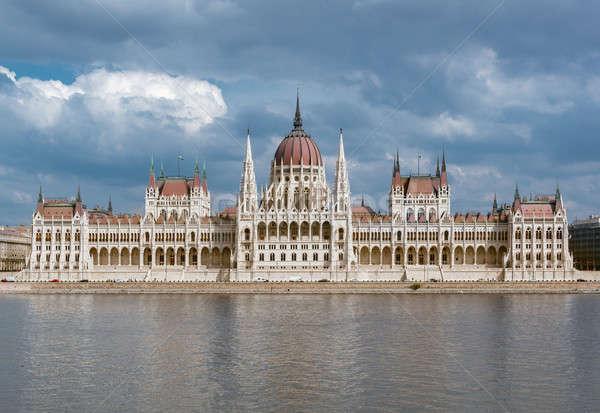 Húngaro parlamento edifício Budapeste Hungria beleza Foto stock © amok