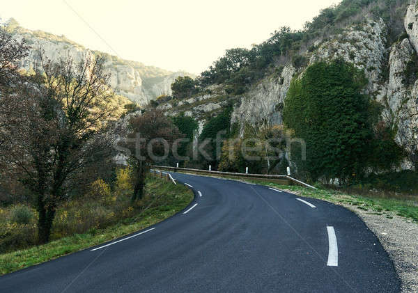 Mountain road in Provence. France Stock photo © amok