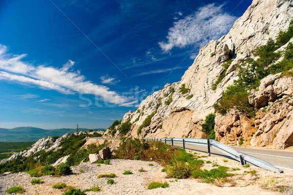 Schilderachtig berg landschap Kroatië voorjaar natuur Stockfoto © amok