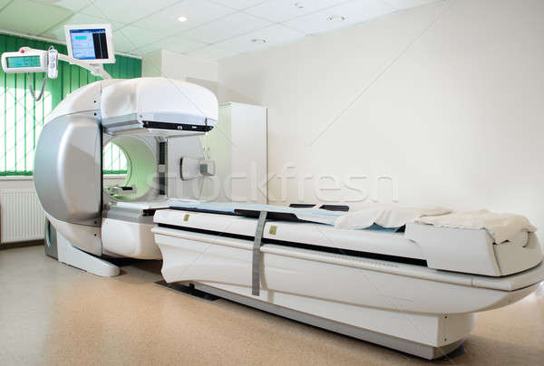 Equipment in oncology department. Nuclear Medicine Stock photo © amok