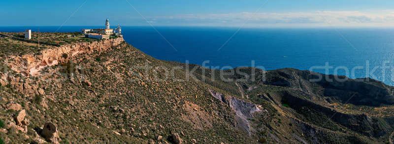 Mesa Roldan Lighthouse in Spain Stock photo © amok