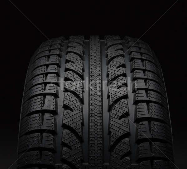 クローズアップ 車 タイヤ 黒 デザイン 技術 ストックフォト © amok