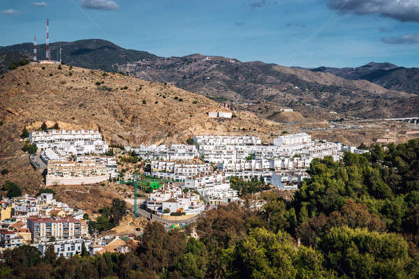 Neighborhood in Malaga. Andalusia, Spain Stock photo © amok