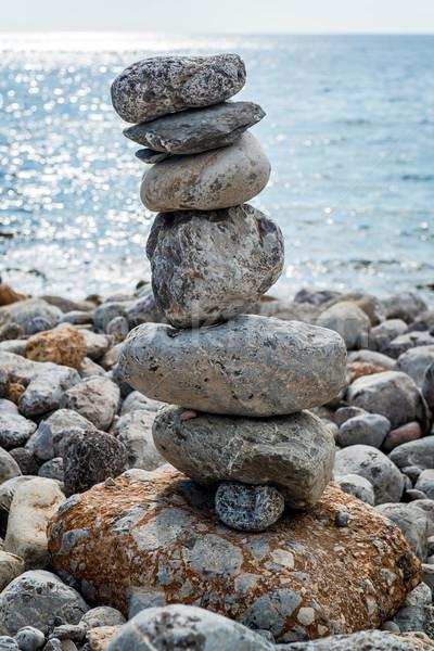 Art of stone balance Stock photo © amok
