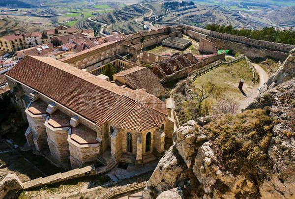 Castello Spagna artistico storico importanza comunità Foto d'archivio © amok