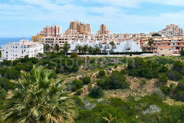 La típico espanhol urbanização cidade Foto stock © amok