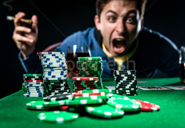 Poker player Stock photo © amok