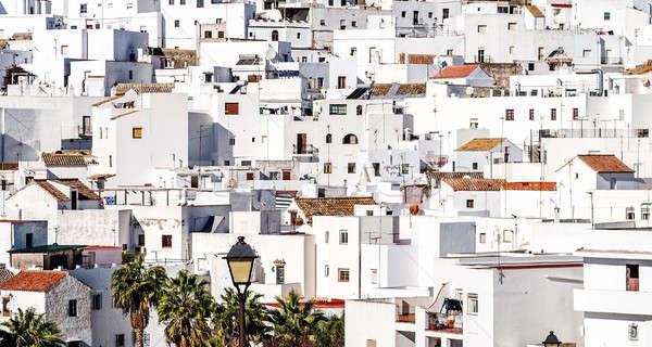 ラ 屋根 スペイン 市 ホーム 建物 ストックフォト © amok