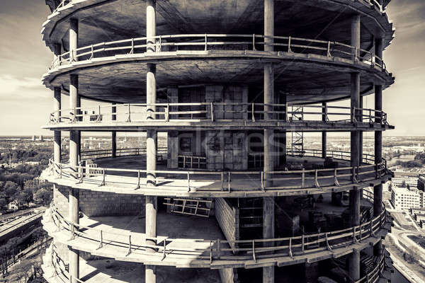 High-rise building under construction Stock photo © amok