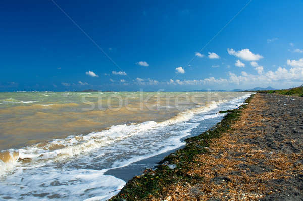 Middellandse zee zee la manga strand Spanje Stockfoto © amok
