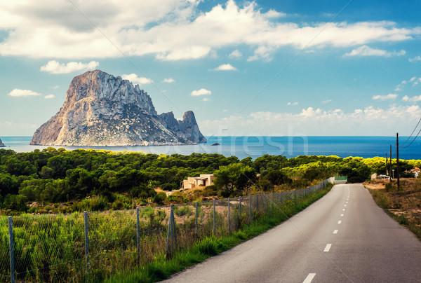 Strada spiaggia piccolo amato fantastico view Foto d'archivio © amok