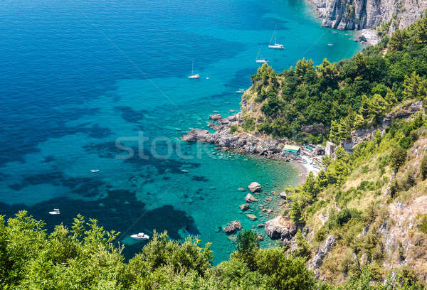 Via Nastro Azzurro, Amalfi Coast Stock photo © amok