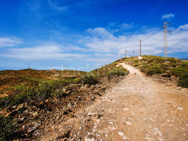 Top of the Guaza mountain. Tenerife, Canary Islands. Spain Stock photo © amok