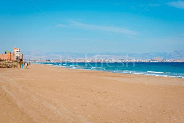 Los Arenales del Sol beach. Spain Stock photo © amok