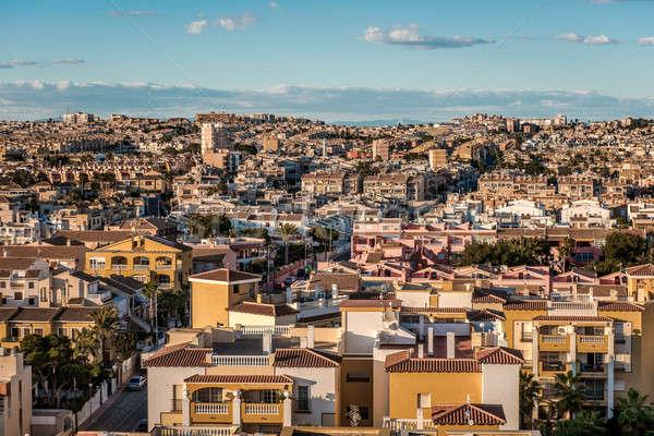 Cityscape of Torrevieja. Alicante province, Costa Blanca. Spain Stock photo © amok