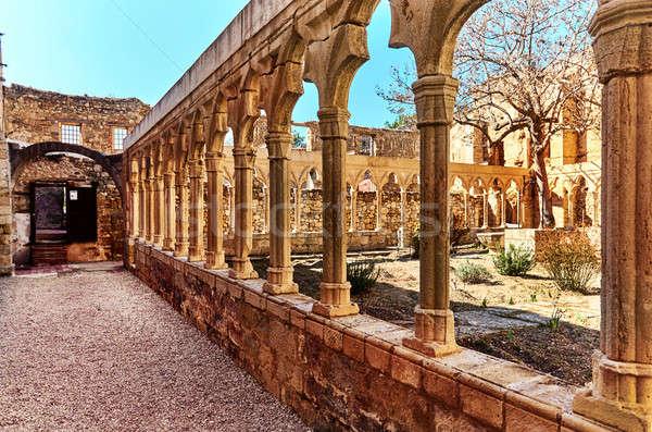 Castelo Espanha comunidade artístico histórico importância Foto stock © amok