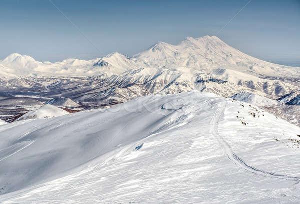 Stock photo: Wild nature of Kamchatka. Far East, Russia