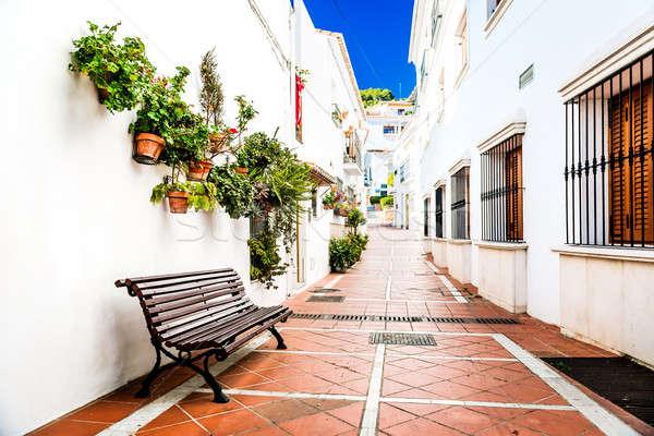 Picturesque narrow street of Rancho Domingo Stock photo © amok