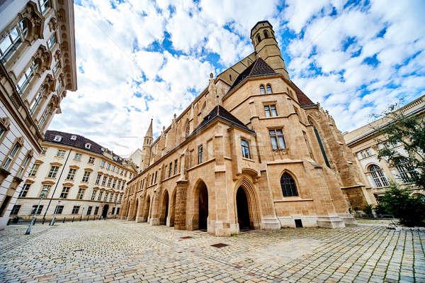 Igreja Viena cidade Áustria construção arquitetura Foto stock © amok