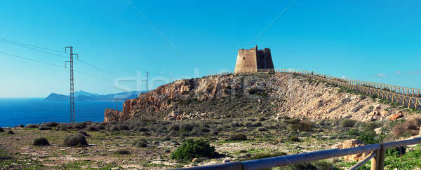 View to the Mesa Roldan, Spain Stock photo © amok
