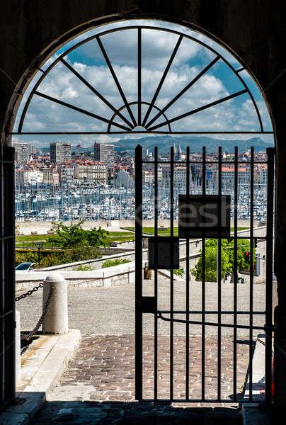 Oude haven Marseille oude water Stockfoto © amok