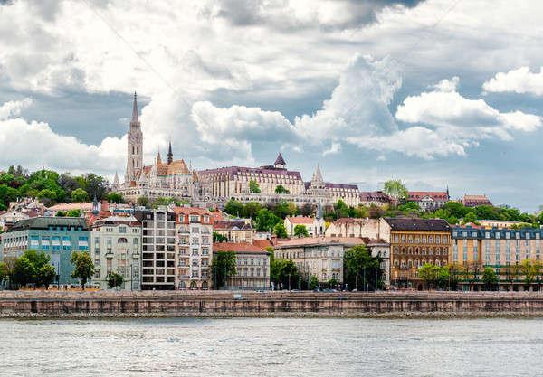 View of Buda Stock photo © amok