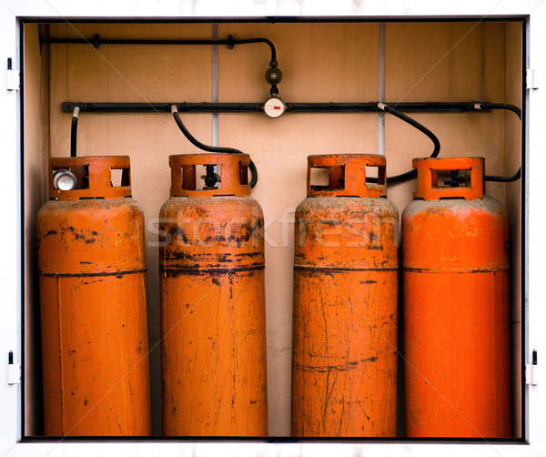 Fours gas container Stock photo © amok